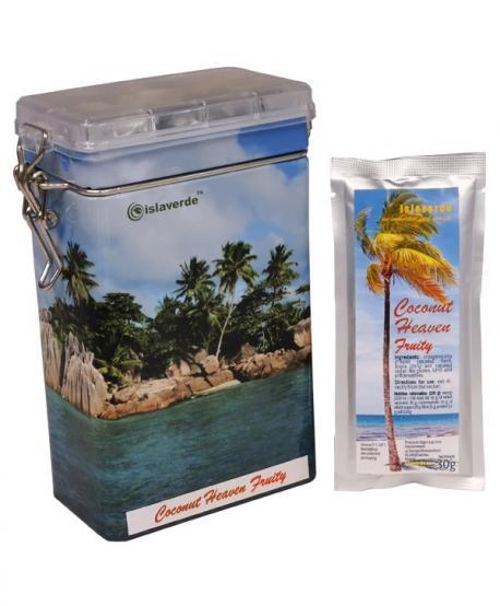 Coconut Heaven Fruity Miąższ kokosa i suszone jabłko zmielone kriogenicznie, zestaw 9x30 g